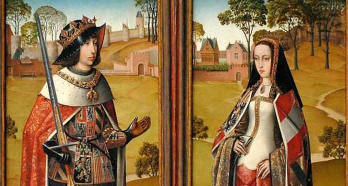 Resultado de imagen para Fotos de Juana de Castilla (después llamada Juana la Loca) y Felipe el Hermoso.