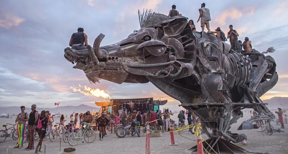 Burning Man El Festival En El Desierto Este 2017