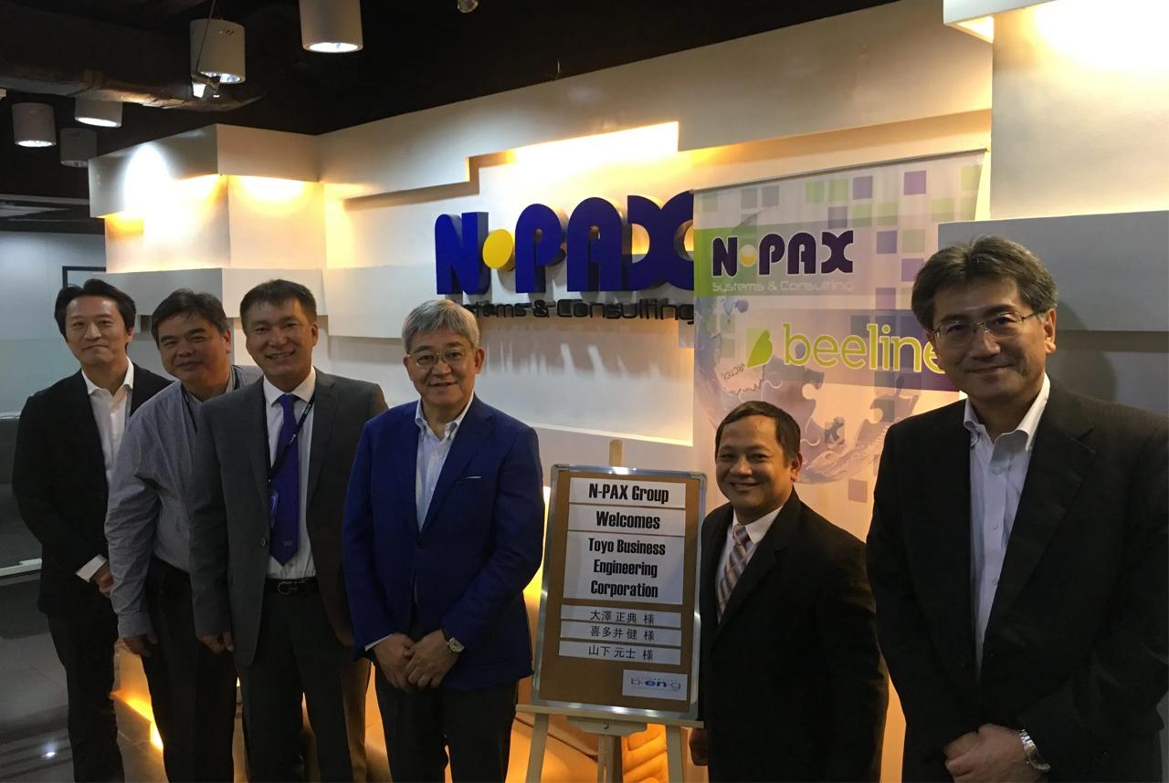 BeNG CEO visits Npax