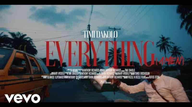 Everything By Timi Dakolo Lyrics