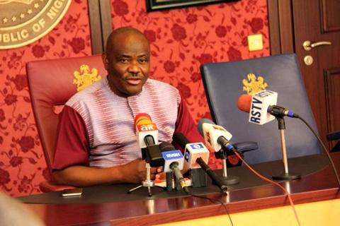 Nyesom Wike press conference