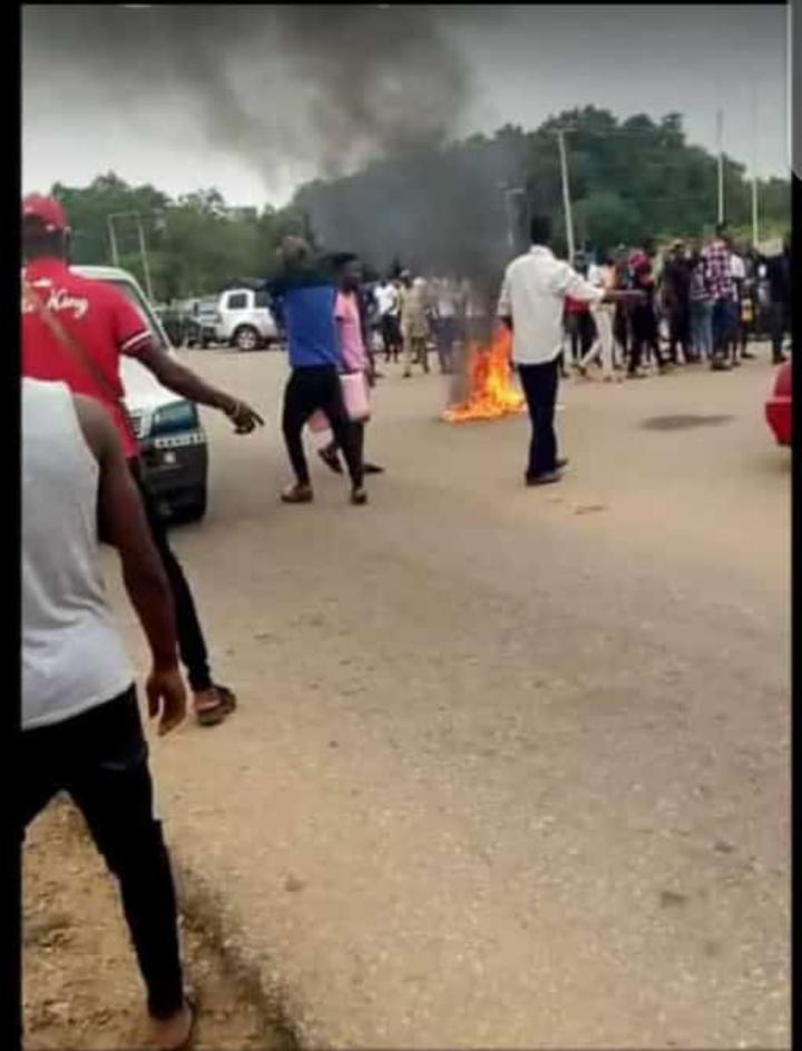 Protest against EFCC