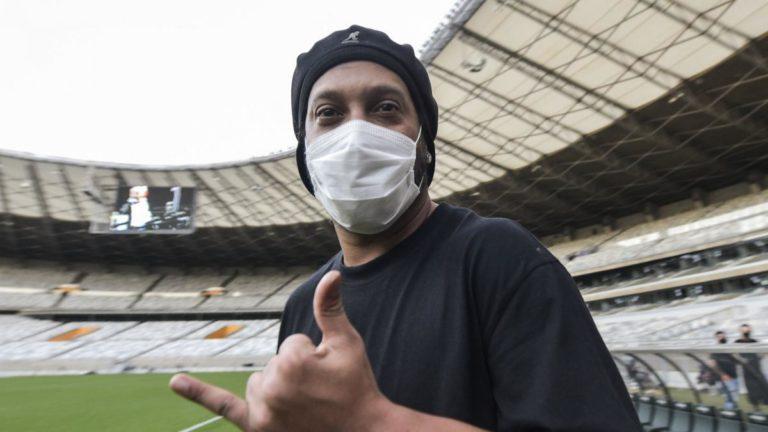 Ronaldinho Coronavirus