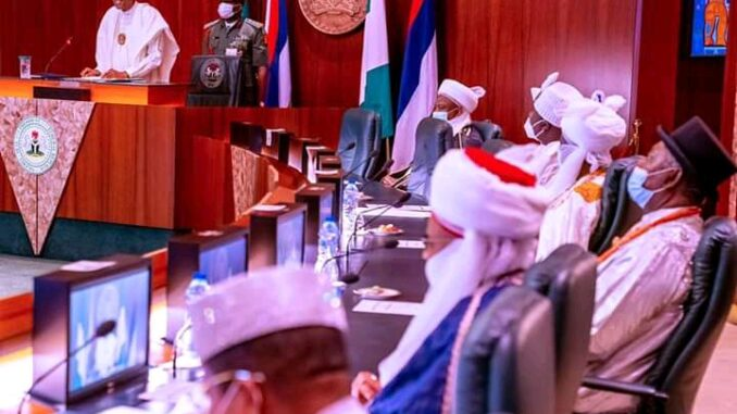 Buhari Meets Ooni, Sultan, Other Traditional Rulers