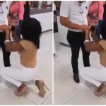 Lady Kneels Down To Propose To Boyfriend At His Workplace – WATCH