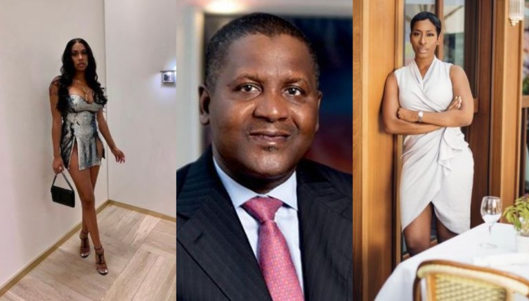 I didnt date her Dangote allegedly denies first American mistress begs the second Screenshot