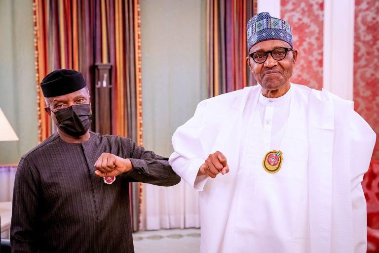 President Muhammadu Buhari Vice President Yemi Osinbajo