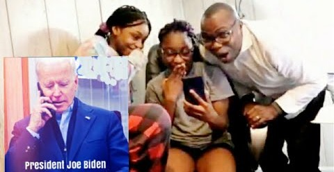 VIDEO Biden Thanks Nigerian Family From Ibadan For Their Support Invites Them To White House