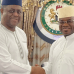 The details of the meeting between Governor Yahaya Bello of Kogi State and the former Minister of Aviation Femi Fani Kayode