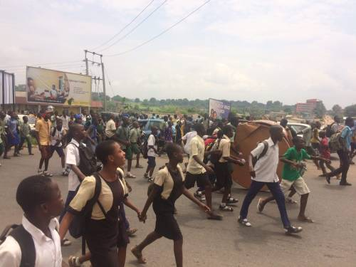 Oyo state Secondary Students