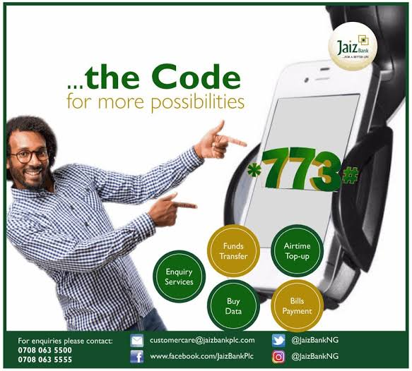 Jaiz Bank Code
