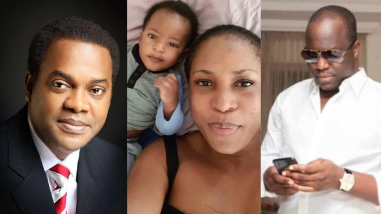 Father Of Blogger, Linda Ikeji's Son