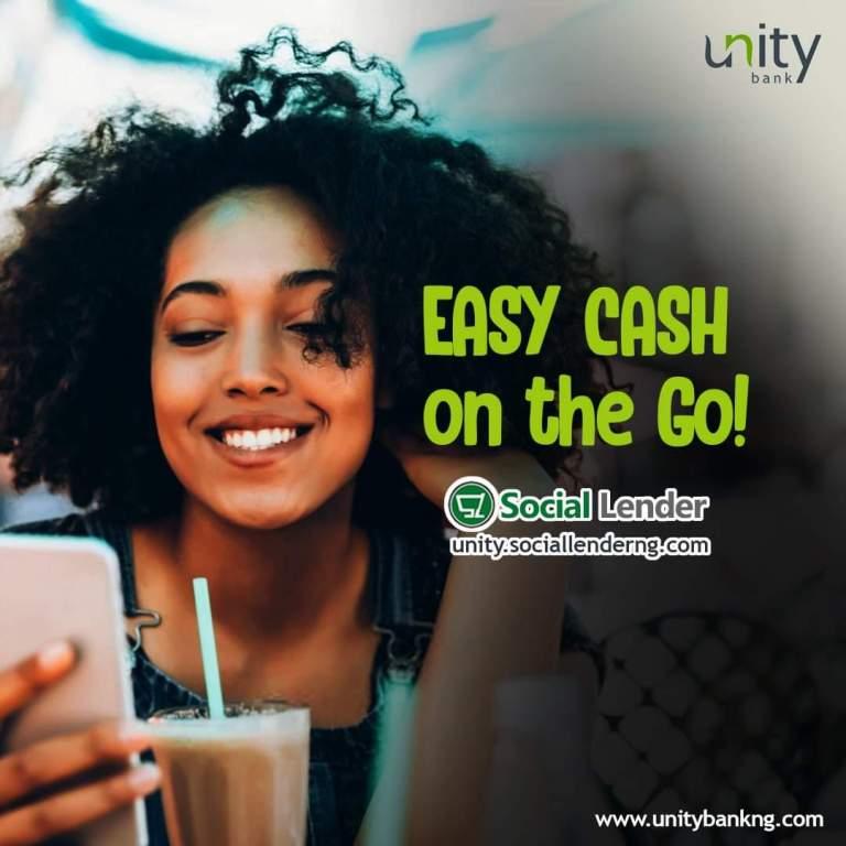 Unity Bank Easy Cash Loan