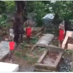 Video Yahoo Boys Bath In Cemetery