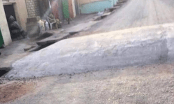 This Is A Fence – See The Size Of A Nigerian Speed Ramp That Has Gotten People Talking