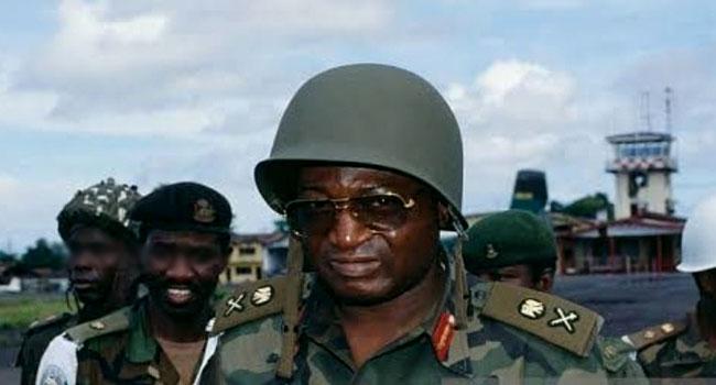 ECOMOG Commander Joshua Dogonyaro