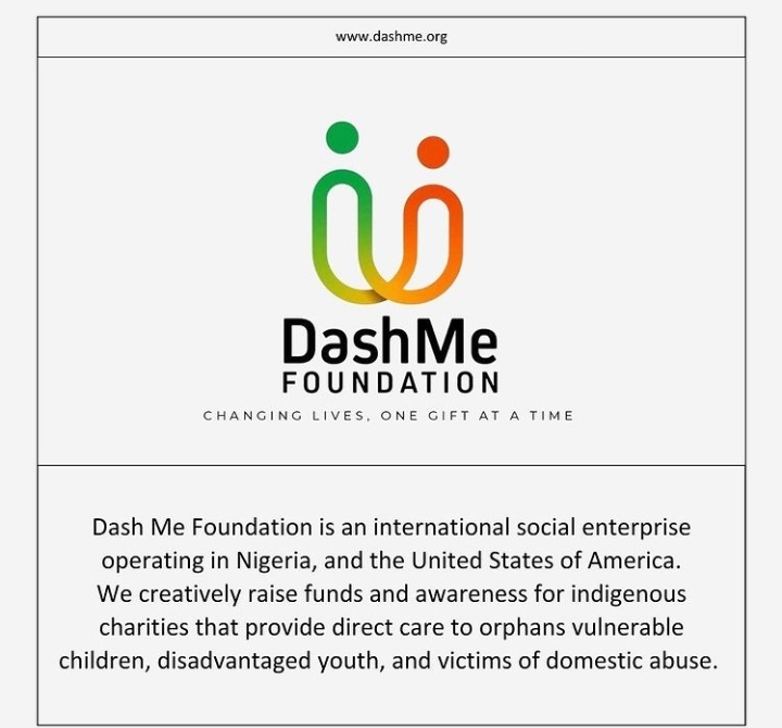 About DashMe Foundation