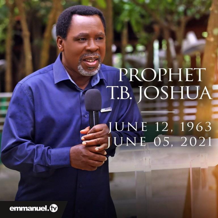TB Joshua Last Word
