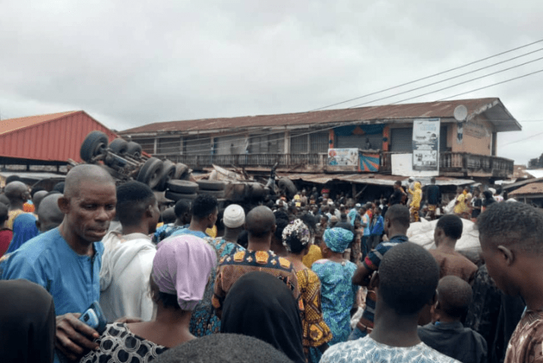 Many Killed As Gas Tanker Rams Into Market In Ibadan