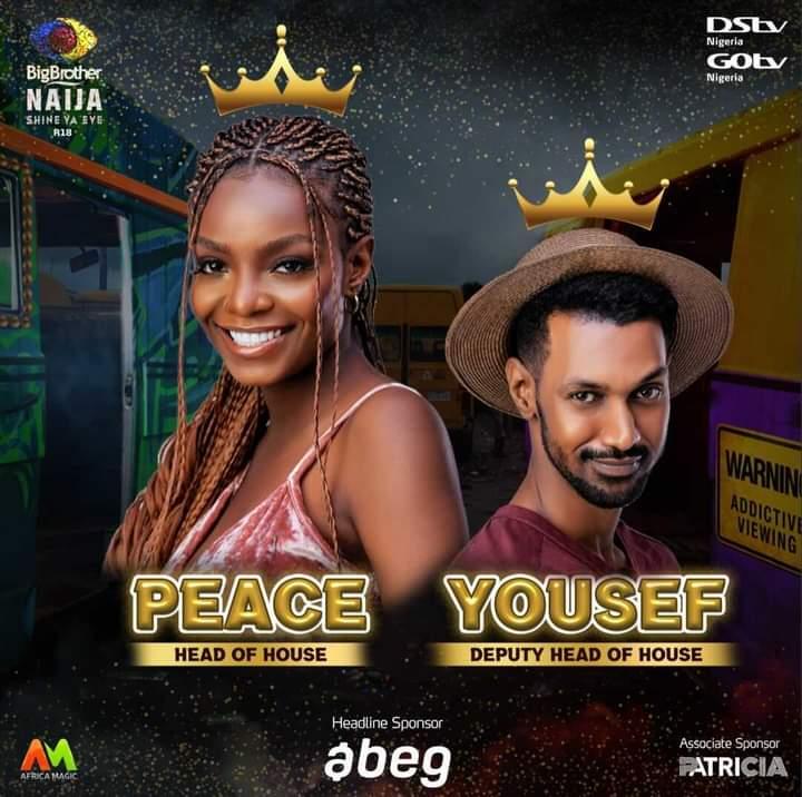 Peace BBNaija and Yousef