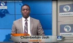 Channels TV presenters Chamberlain Usoh