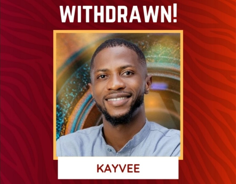 Kayvee Disqualified from BBNaija Season