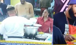 Pere Stops WhiteMoney From Cooking