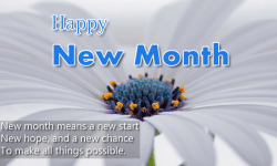 new month messages for
