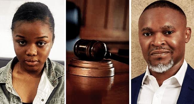 Chidinma Ojukwu in Court On Super TV CEO