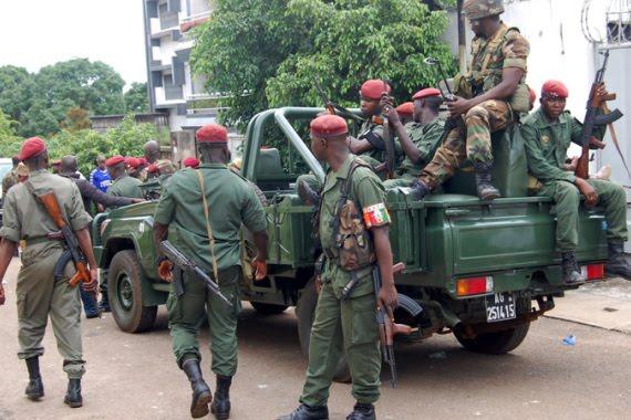 Guinea capital Conakry Killng Shot Today