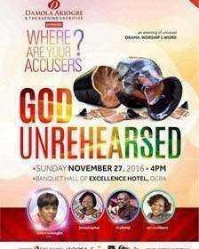 God Unrehearsed | 27th Nov; 2016