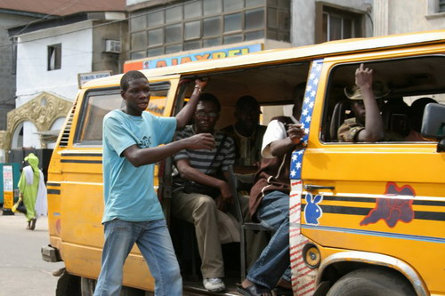 Image result for bus conductor lagos