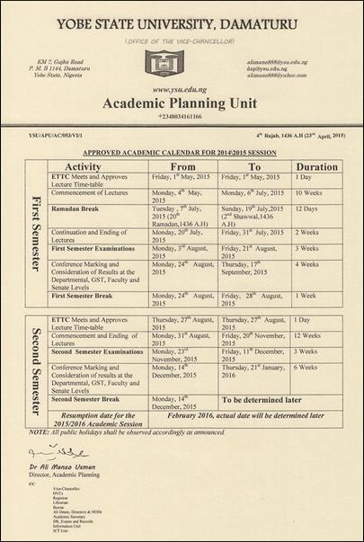 ysu-academic-calendar