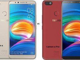 Tecno Camon X VS Camon X Pro