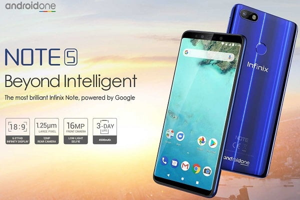 Infinix Note 5 specs and price