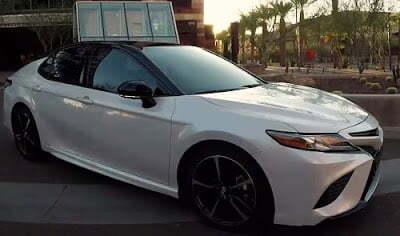 Toyota camry 2019 car