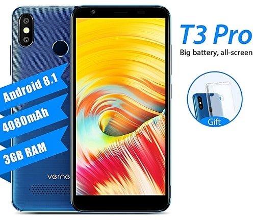 Vernee T3 Pro smartphone specs and price
