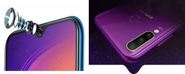 Infinix S4 Pro with powerful cameras