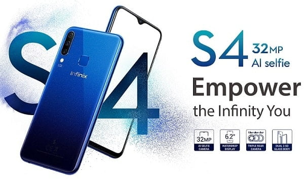 Infinix S4 specs specs and price + Review