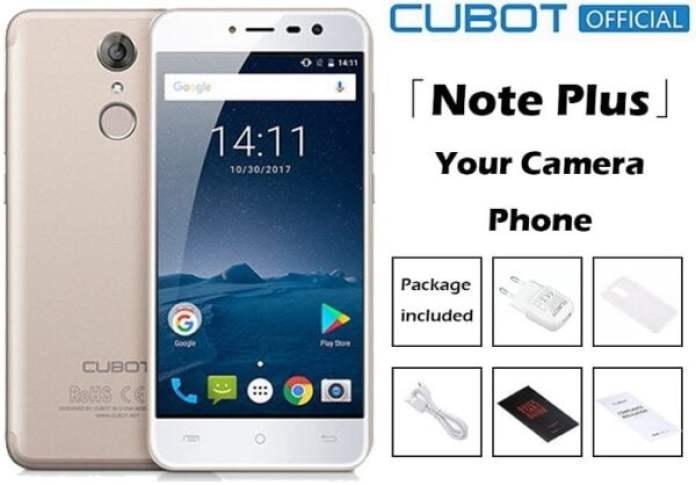 Cubot Note Plus specs and price in Nigeria