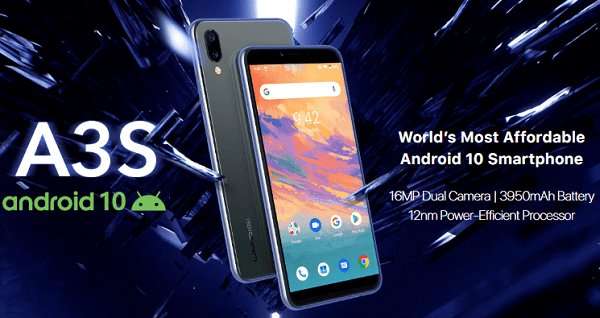 Android 10 smartphone