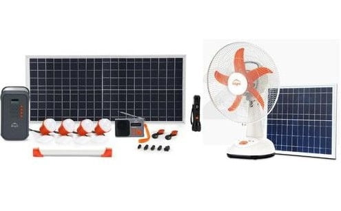 D.Light X1000 Solar Fan (SF21) Home System