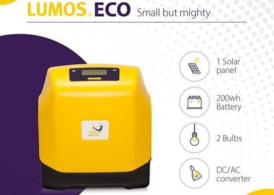 Lumos ECO home solar system on Jumia Nigeria