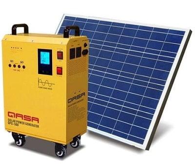Qasa Solar Power Generator QPG-500 & QSP-100W18