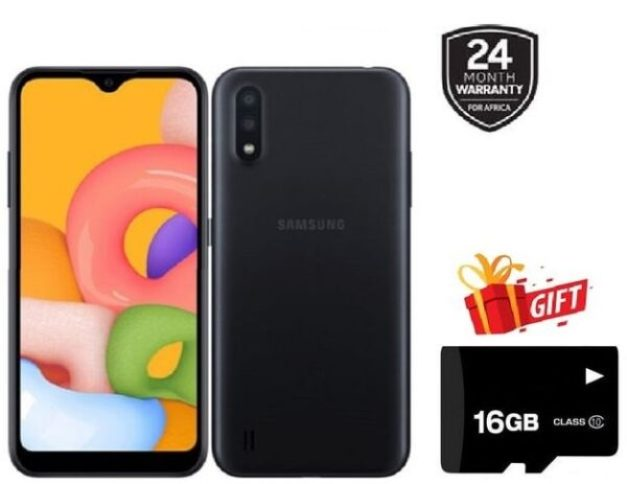Samsung Galaxy A01 4G (2gb+16gb) Specs  & Price in Nigeria