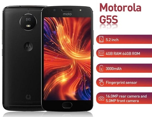 Motorola G5s smartphone specs and price in Nigeria