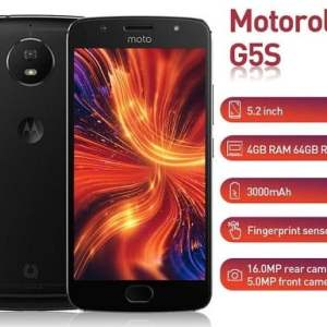 Motorola G5s smartphone specs and price in Nigeria
