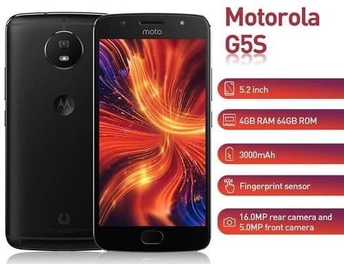Motorola G5S XT1799 Specs and price (4GB, 64GB ROM)