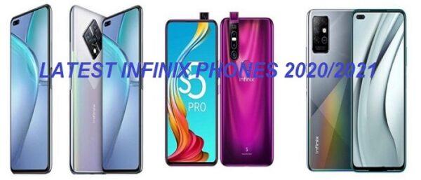 Latest Infinix Phones