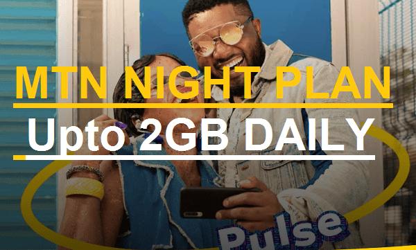 code for mtn night plan, MTN pulse nightlife plan
